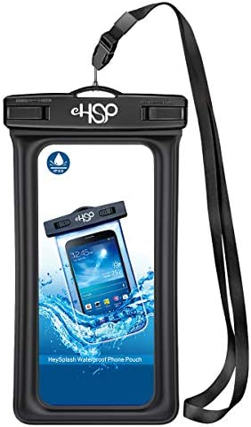 HeySplash Floating IPX8 Waterproof Phone Case Underwater Dry Bag with Armband Neck Strap Phone product image
