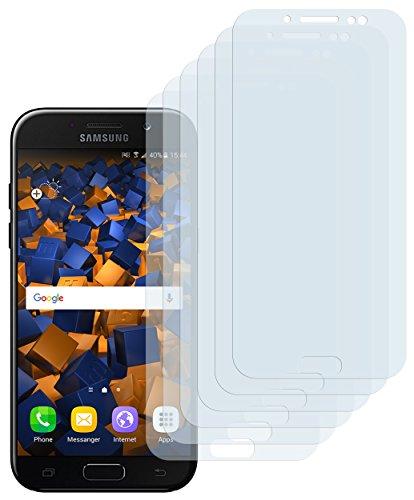 mumbi Schutzfolie kompatibel mit Samsung Galaxy J5 2017 Folie klar, Displayschutzfolie (6X)