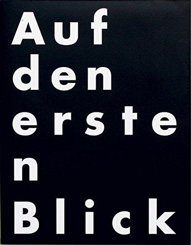 Auf den ersten Blick: Graphic Design für den Alltag by Pierre Mendell (2001-10-01)