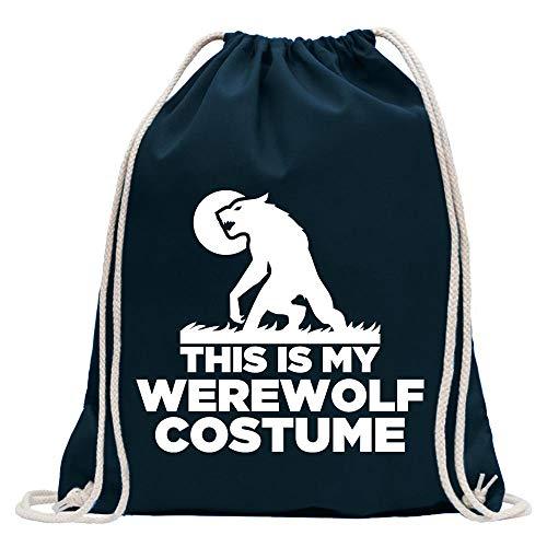 Kiwistar C'est Mon Costume de Loup-Garou Sac de Jute imprimé Design Print