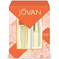Jovan Musk Pack Mujer: Eau de Cologne Natural Spray 100 ml + Eau de Cologne Natural Spray 15 ml