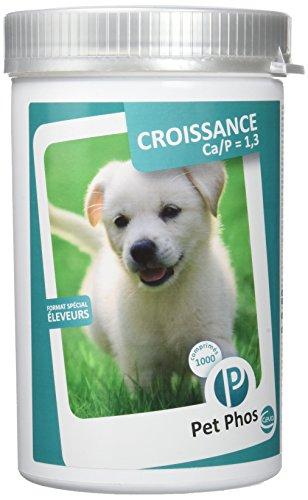 Sogeval/Pet-Phos Canin Ca/P = 1,3 boite de 1000 comprimés Complément Alimentaire Santé chien