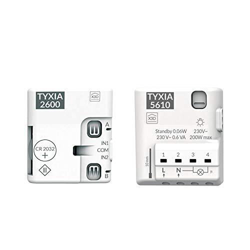 Delta Dore Pack TYXIA 5016351407–Pack Switch wireless con neutro