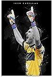 HuGuan Leinwand Druck Poster Iker Casillas für