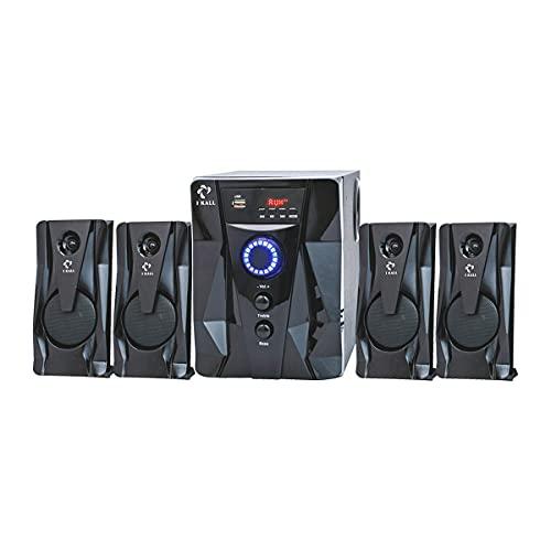 I KALL IK411 Home Theater (4.1, Bluetooth, Aux, USB, FM Connectivity), Black
