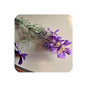 Silk Flower Arrangements Artificial Spring Scenery Cosmos European High Grade Simulation Daisy Flowers Fake Plants Home Shop Decor