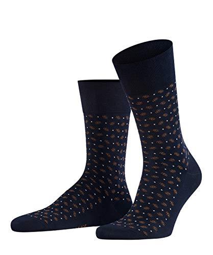 FALKE Herren Socken Sensitive Jabot - 80prozent Baumwolle, 1 Paar, Blau (Dark Navy 6376), Größe: 39-42