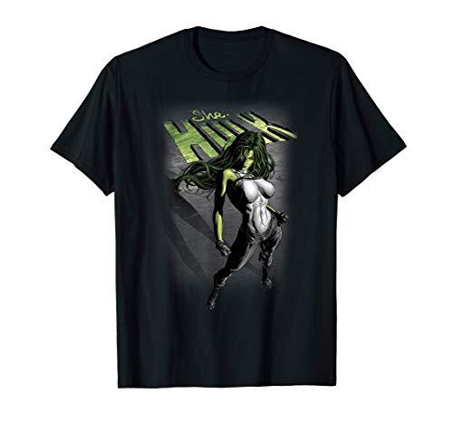 Marvel She-Hulk Shadow Camiseta