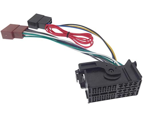 Auto Radio Cable de conexión Opel Fiat Alfa Citroen Dodge Jeep Peugeot Lancia DIN ISO Cable Conector