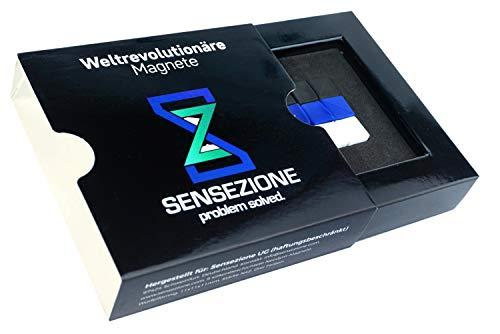 Die besten Magnete auf Amazon - 1 Magnet hält das 152-fache seines Eigengewichts | 9 absolut hochwertige, super weiche Neodym Magnete mit Luxus Gefühl