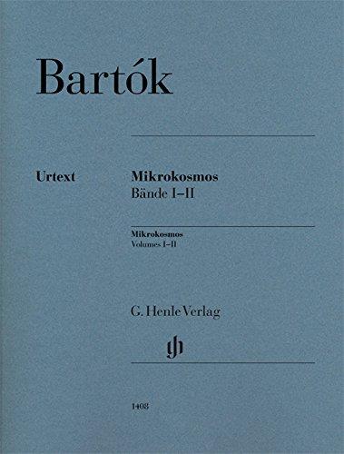 Mikrokosmos Bände I-II, Urtext: Klavier zu zwei Händen