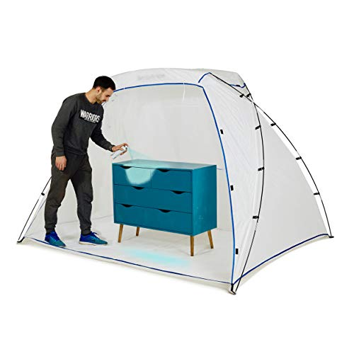 Portable Spray Paint Booth - Airbrush Spray Paint Shelter Tent - DIY Hobby Painting Station