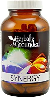 Herbally Grounded Synergy 120 Capsules, 100% Raw Herbs