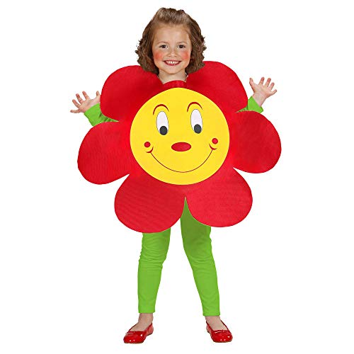 WIDMANN Aptafêtes?cs881266?Flores de Disfraz para niños?Tamaño 2?5años/98?116cm