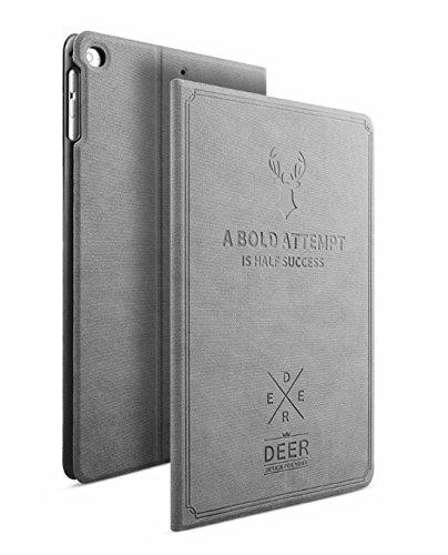 iPad Mini 4 Funda, Avril Tian Book Style Delgado Case con Función de Encendido y Apagado Automático Cover para Apple iPad Mini 4 7.9 pulgadas Tableta