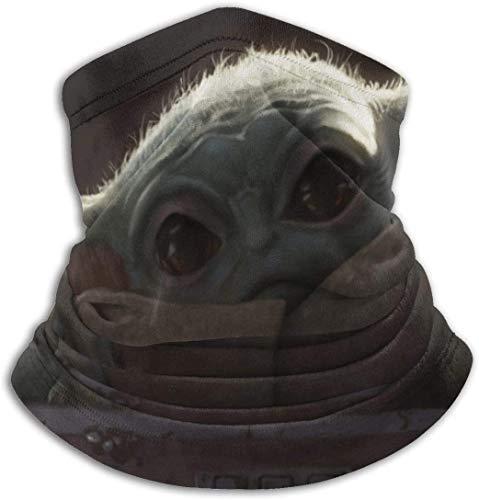 Star Wars - Leggings de forro polar unisex para el cuello y el calor para clima frío, bandana cálida para el cuello, protección UV para el aire libre