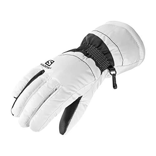 Salomon, Damen Handschuhe, FORCE W, Weiß/Schwarz, Gr. XL, L40421700