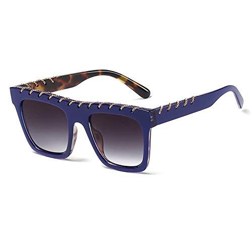 Sonnenbrille Damen Oversized UV-400 Designer-Brille Frauen Gläser