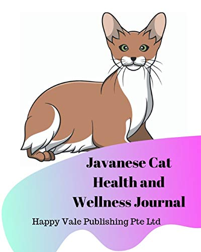 Javanese Cat Health and Wellness Journal