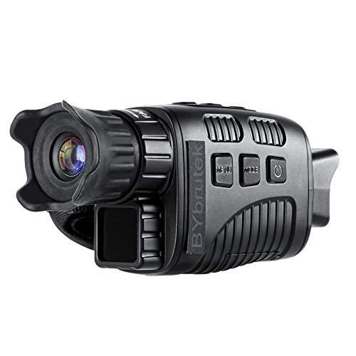 BYbrutek Dispositivo de visión nocturna por infrarrojos, telescopio monocular digital de alta definición, pantalla TFT de 1,5 pulgadas, telescopio de visión nocturna, foto de 1 my, 300 m, 960p