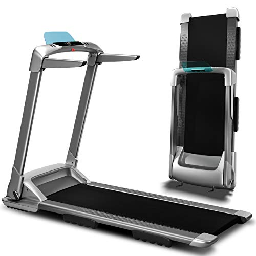 Ovicx Foldable Treadmills for Home - Portable Folding Compact Small Thin Electric Fold Up Lightweight Treadmill for Space Saver Apartment (Power: 3.0)