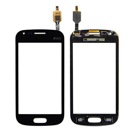 WeDone para Samsung Galaxy Trend Plus S7580 S7582 Pantalla Táctil Digitalizador Vidrio(Sin LCD) Reemplazo y Herramientas (Negro)