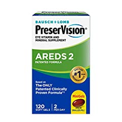 PRESERVISION AREDS 2 EYE VITAMINS: This formula uses Lutein & Zeaxanthin, zinc, copper, Vitamin C & Vitamin E to exactly match the nutrient formula recommended by the AMD experts at the National Eye Institute based on the Age Related Eye Disease Stud...