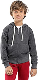 Kady Cotton Zip-up Hooded Jacket for Kids