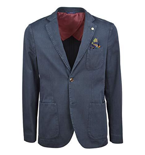 AT.P.CO - Uomo Giacca Blazer Twill Blu A172GEGE78 799 A - 27923-44
