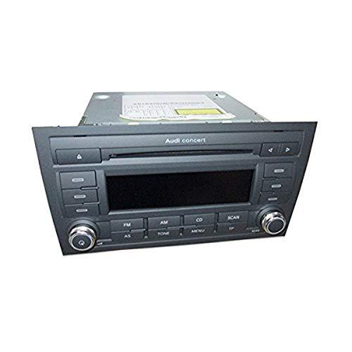 Audi 8e0057185l CD de radio de coche Concert Generación II con Single unidad de MP3Preparado para