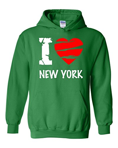 Acacia I Love New York–más populares Estado serie unisex sudadera con capucha sudadera