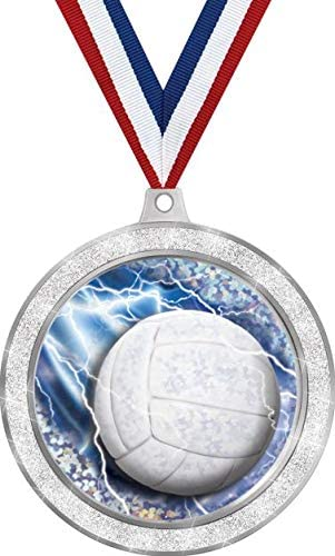 Volleyball Medal 2 1 2