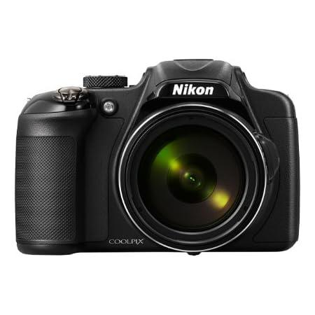 Nikon デジタルカメラ P600 光学60倍 1600万画素 ブラック P600BK