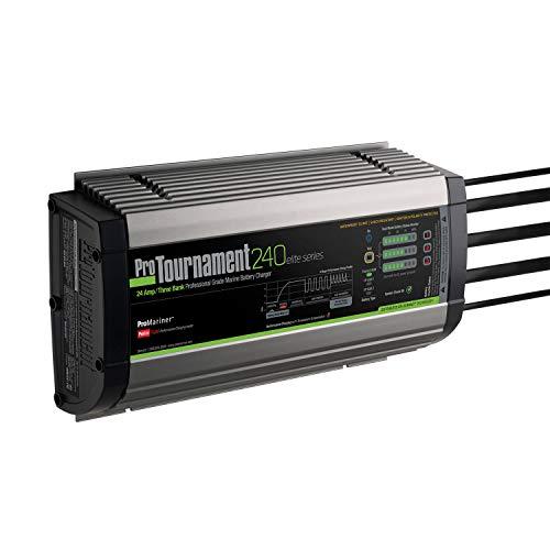 ProMariner Cargadores de batería Impermeables, Cargador de batería, 24 amperios, 12/24/36 voltios, PRO-52026, ProTorneo, 24 Amp