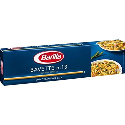 20x Pasta Barilla Bavette Nr. 13 italienisch Nudeln 500 g pack