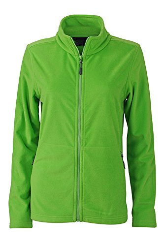 JAMES & NICHOLSON T-Shirt Basic Veste Polaire pour Femme M Spring-Green