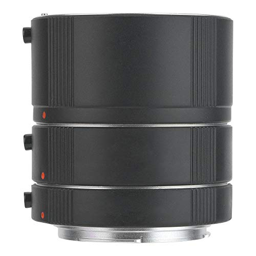 Lente de extensión macro de enfoque automático para lente Canon EOS EF/EF-S, 3 anillos/set, 13 mm, 20 mm, 36 mm, lente de extensión de cámara, enfoque automático compatible y exposición automática, ad