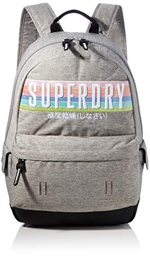 Superdry Damen Rainbow Montana Rucksack Grau (Grey Marl)