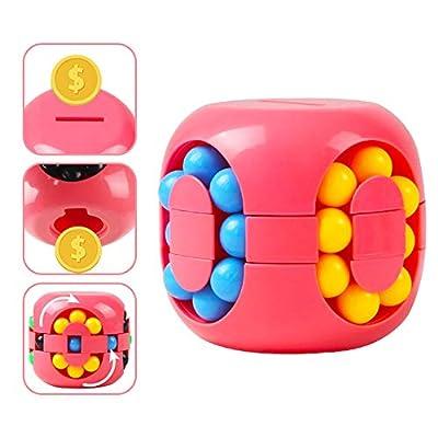 BREIS Educational Toy Piggy Bank, New Creative Decompression Gadget Piggy Bank,Best Gifts for Men Boy Girls Kids (Pink) from BREIS