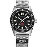 ALFA FLAG Hydromatic 200m/660ft Diver Watch Professional Automatic Men's Sport Watch, AFHM200-1