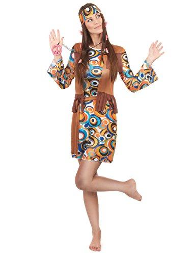Déguisement hippie femme - Medium