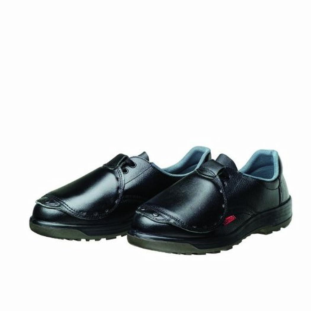 オデュッセウス臨検ガイドラインDynasty 安全靴 PU二層底 耐滑 かかと衝撃吸収 JIS T8101革製 S種E?M?F合格(D式) D-7001甲プロ D7001 メンズ