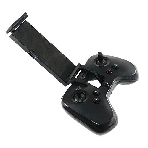 RC GearPro Flypad Minidrone Controller erweiterter Halter 10,2–30,5 cm (4–12 Zoll), verstellbare Handy-Halterung/Tablet-Ständer, kompatibel mit Parrot Minidrones Mambo FPV/Mambo Mission/Swing