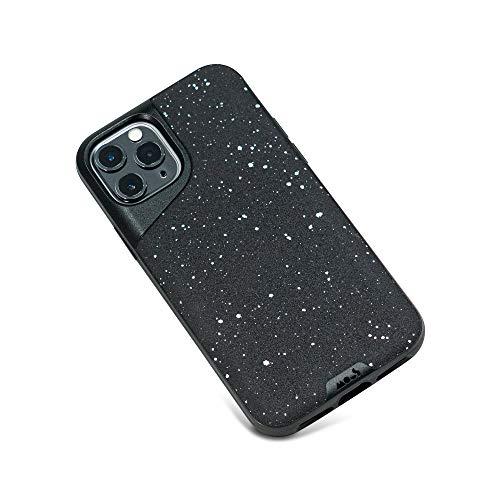 Mous - Funda para iPhone 11 Pro MAX - Contour - Cuero Negro Moteado - Sin Protector de Pantalla Incluido
