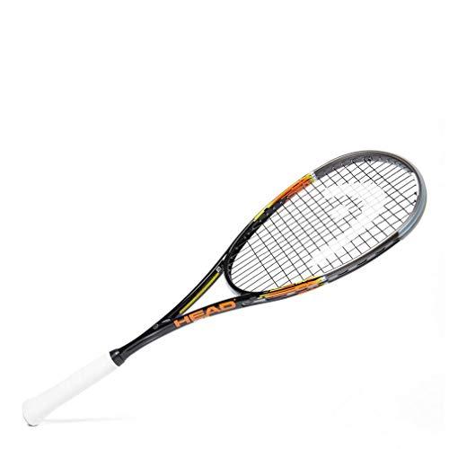 HEAD Xenon 135 Squash Racquet, Black, One Size