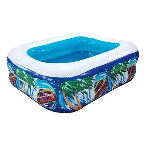 FHISD Piscinas inflables Famlily tamaño completo Lounge Piscina para jardín patio trasero al aire libre verano fiesta agua para niños niños adultos niños pequeños fácil conjunto piscina
