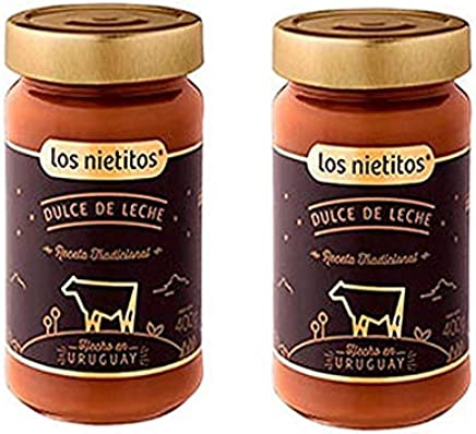 Amazon.com : Los Nietitos Dulce de Leche - Caramel Spread, 14.1 oz - 2 Pack : Grocery & Gourmet Food