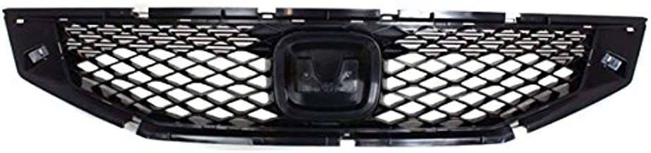Koolzap For 08 09 10 Accord Coupe Front Face Bar Grill Grille Assembly HO1200192 71121TE0A01