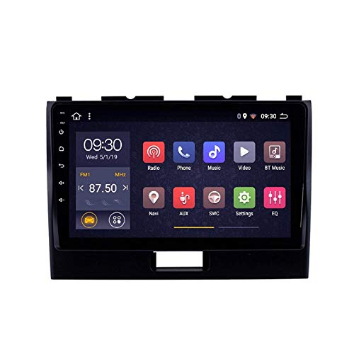 MIVPD Android 10.0 Autoradio SAT NAV Radio per Suzuki Wagon R 2010-2018 Navigazione GPS 9 '' unità Principale Touchscreen MP5 Lettore multimediale Ricevitore Video con 4G WiFi SWC Carplay