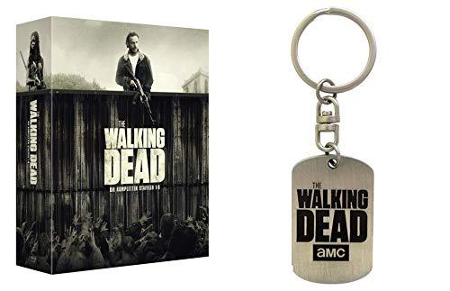 The Walking Dead - Die kompletten Staffeln 1 2 3 4 5 6 + Schlüsselanhänger 26 Blu-Ray Box Geschenk Set LIMITED EDITION